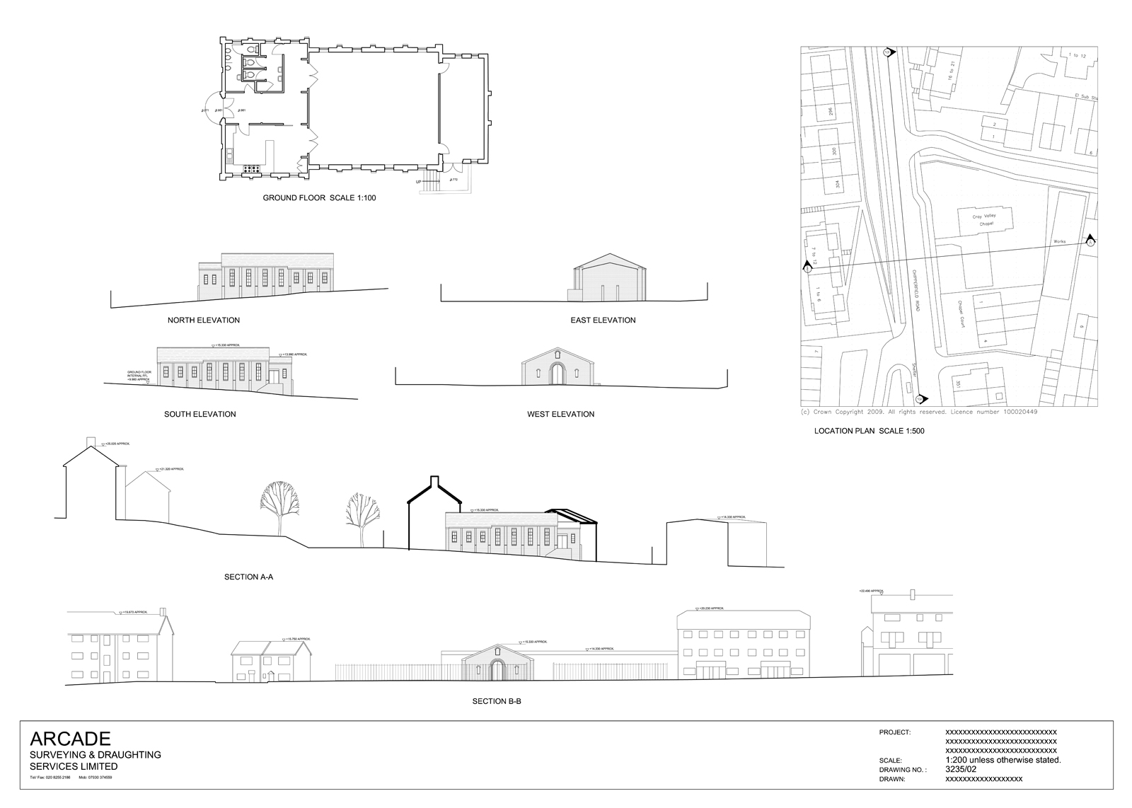 planning drawings for church development