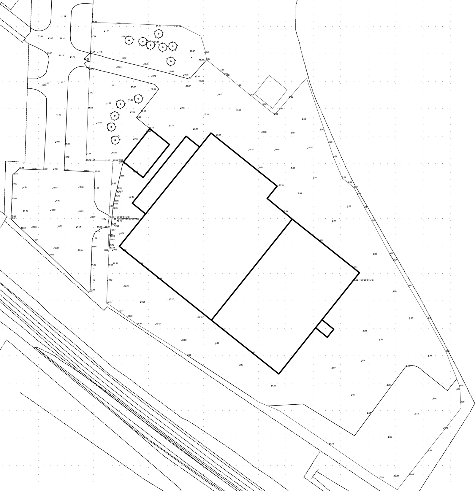 Topographic site plan 2